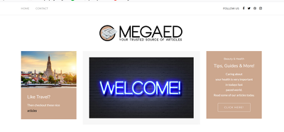 Place an Guest Post on Megaedd.com - DA62, TF40