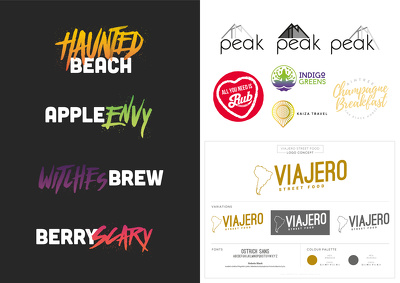 Design a set of 3 logos