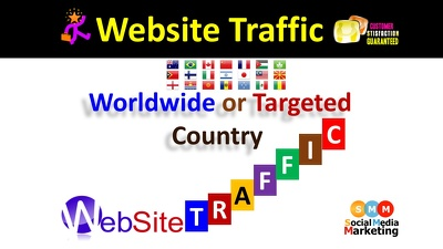 5000+ ORGANIC WebSite Traffic, Real & Adsense Safe From USA