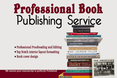 Provide TopNotch publishing Services for your Manuscript or Book