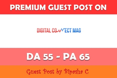 Guest post on Digitalconnectmag.com Tech website - DA 54