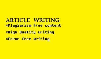 Write a unique article of 500-550 words