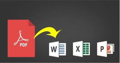 Do editable data entry from PDF to word and excel