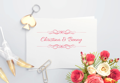 Design two wedding logos/monograms + Free Revisions