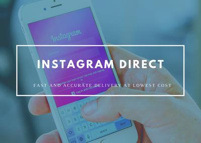 Dm promotional message to instagram, facebook, twitter, etc