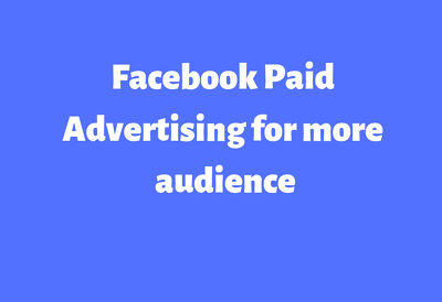 Paid advertise your facebook page for more fans