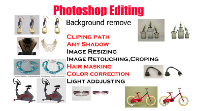 Cutout, replacement, transparent background  1 to 30 images