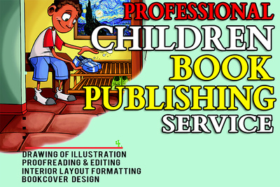 Illustrate, Design and Publish Your Childrens Book for you