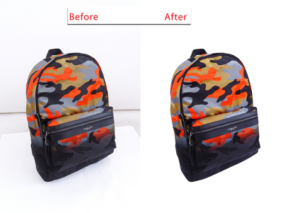 Do professional photo edit and background change within 24 hrs