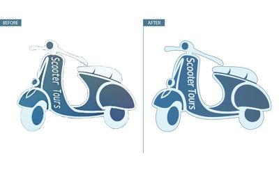 Convert logo or image into vector format