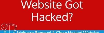 Clean malware / virus and fix hacked WordPress website.