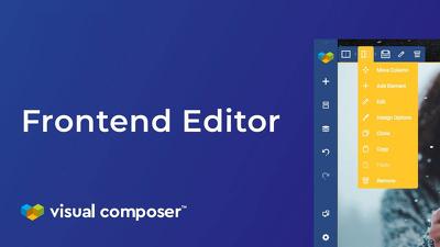 Setup a web page with Visual Composer