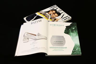 Design you a premium print-ready magazine advert