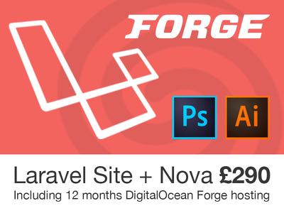 Create a laravel 5.8 based site with nova admin