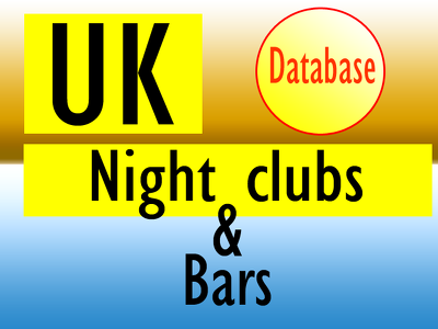 Give you1000 uk night clubs and bars contact