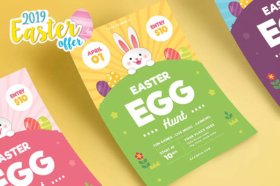 Create an awesome Easter Flyer/Poster/Ad Image