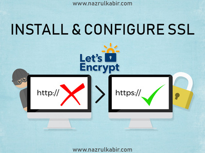 Install / configure SSL on your website with padlock