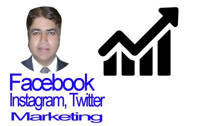 Run Facebook, Instagram and twitter marketing campaign.