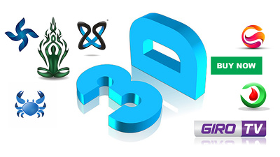 Make a Brand 3d Logo Design For Your Business