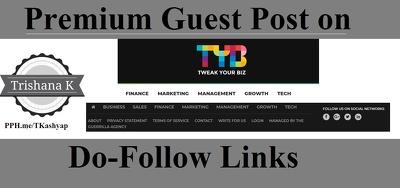 Post Business Finance Guest Post TweakYourBiz - TweakYourBiz.Com