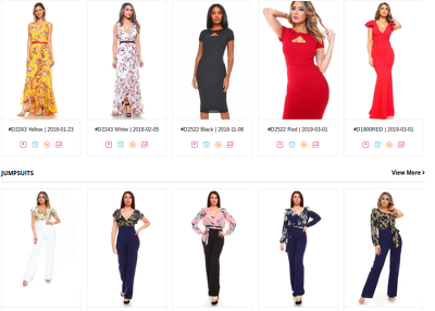 Provide a list of 100 Women Fashion Wholesale Suppliers.