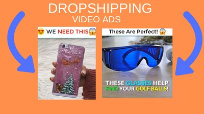 Create dropshipping shopify video ads for facebook