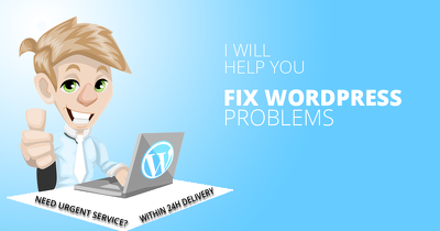 Fix one hour Wordpress Problems Wordpress Issues and install