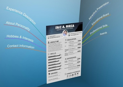 Design Your CV more Attractive & Expressed