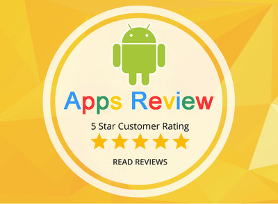 Add 15 Reviews/ratings to your android app