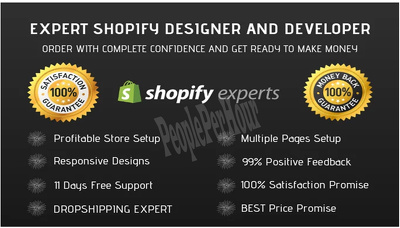Build A Complete Shopify Store Shopify Website