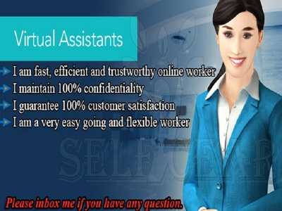 Work for you Hourly as VA