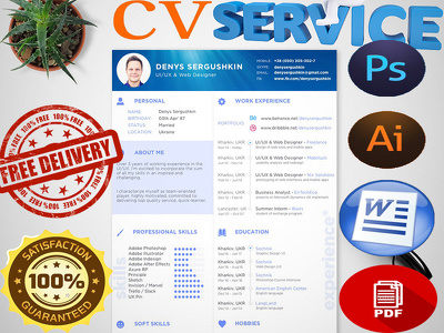 Design A High Quality Professional CV And Cover Letter