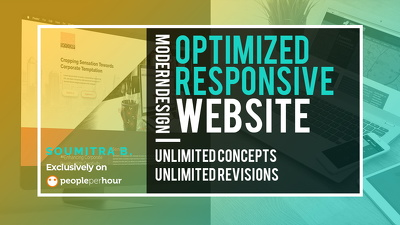Design & Develop Modern Optimized Website - Responsive