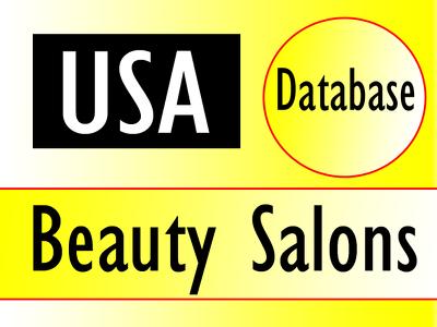 Give you 3000 usa beauty salon contacts