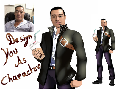 design you as character