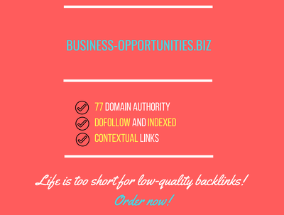 Publish Do Follow Guest Post On Business-opportunities.biz DA 7