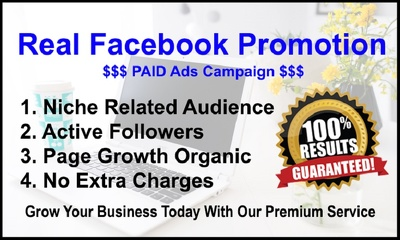 Do cheap facebook page PAID advertisement