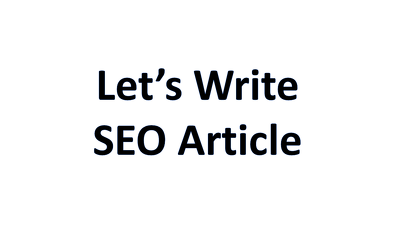 Write a 500 words SEO article in healthcare field
