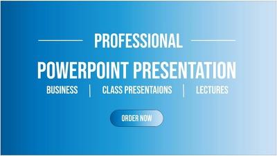Design Amazing PowerPoint Presentation