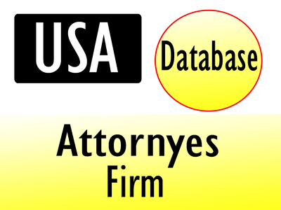 Give you 9000 usa attorneys firm contact