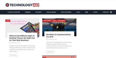 Publish a guest post on Free Tech Aid - FreeTechAid.com - DA54