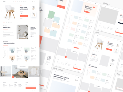 Design Professional Wireframes for Mobile App or Web App