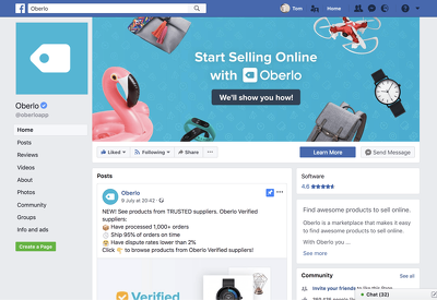 Review your Facebook Business Page for Marketing