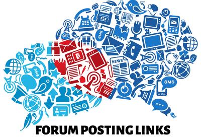 Give you 40 Forum Posting Links