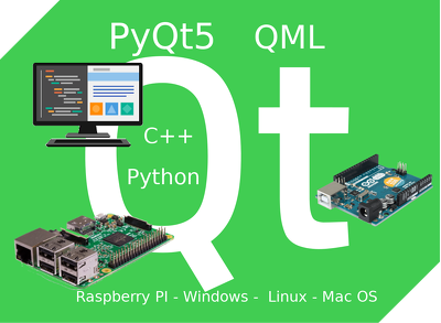 Fix bug and build any C++/ Python/Qt/QML/PyQt5  software
