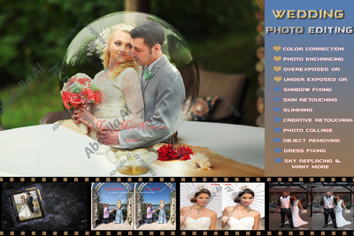 Do 100 wedding event photo editing retouching in Lightroom