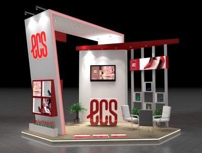 Design exhibition stall or kiosk