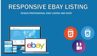 Create Responsive Ebay Listing