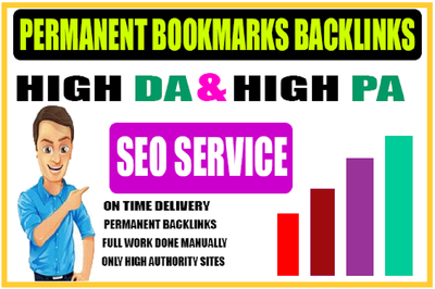 Top 40 High Authority Social Bookmarks Backlinks