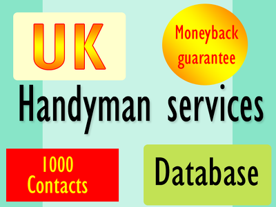 Give  you 1000 uk handyman services contact